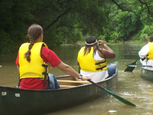 Paddle the Trinity River Boat launches at Sylvan Ave.