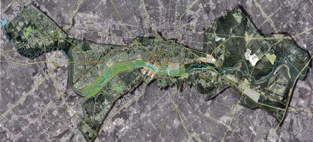 Trinity River Corridor Project Design Concept Royal Lane Audubon