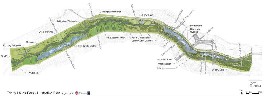 Trinity Lakes Park Corps is conducting an Environmental Impact Statement (EIS) for this