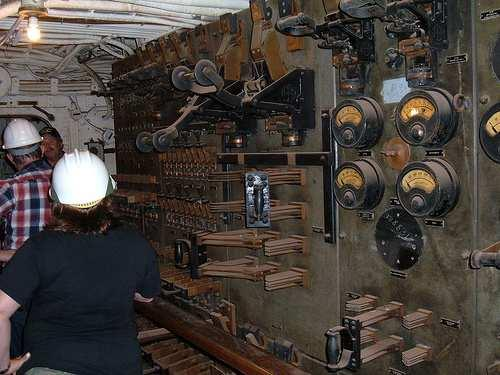 I even found my way into one of her engine rooms which may or may not have been open to the public at that time.
