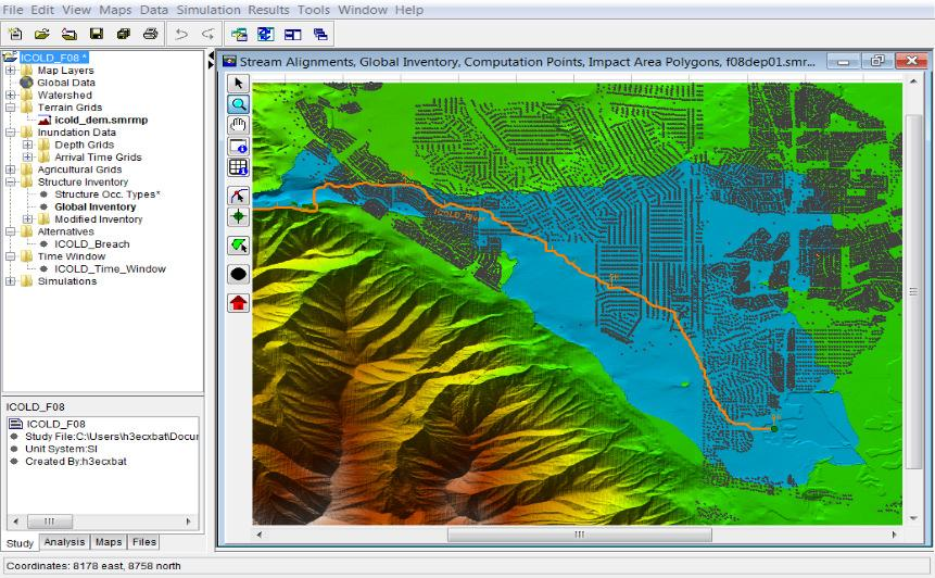 by enhancing the hydrologic model for better forecasting and