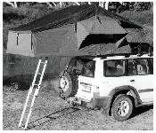 Attaching the Mounting Rails to the Smittybilt Rooftop Tent Direction of Opening Before you fit your new rooftop tent to your vehicle, you will need to decide whether you wish to have the rooftop
