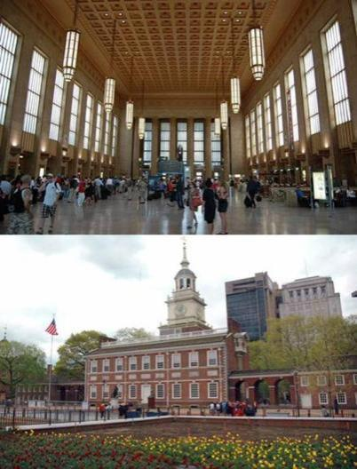 Philadelphia Founded in 1862 Largest city much of the 18th century Lost prominence due to difficulty of