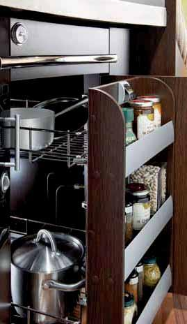 The Rexosline kitchen is extremely innovative and