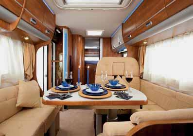 KREOS 5001 SL: THE KING OF COACHBUILTS Kreos 5001 SL is not a common motorhome: it was developed for those who enjoy