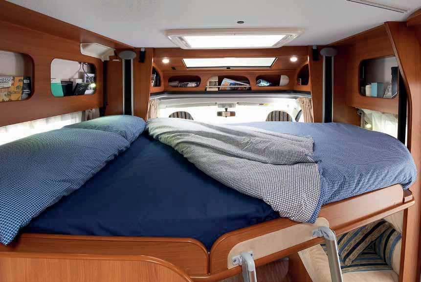 X range low-profile motorhomes can be