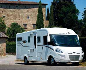 This allows every motorhome s internal area to be very LUTON WARM AIR DISTRIBUTION SYSTEM A specialised system supplies warm air to the luton, thus providing