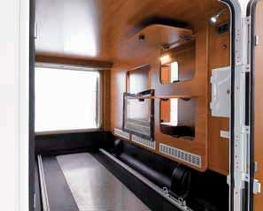 A TAILORED MOTORHOME LAIKA motorhomes are designed in order to be configured on a made to measure basis, according to individual needs.
