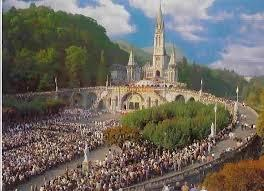 Lourdes is the most visited pilgrimage shrine in the Christian world and the site of a Marian apparition in 1858 to the 14-year old Bernadette Soubirous.