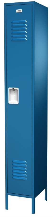 TRADITIONAL COLLECTION The visually appealing and very durable Traditional Collection is our most widely distributed locker line.
