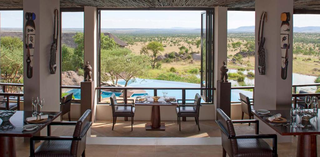 Dine in style in the Serengeti