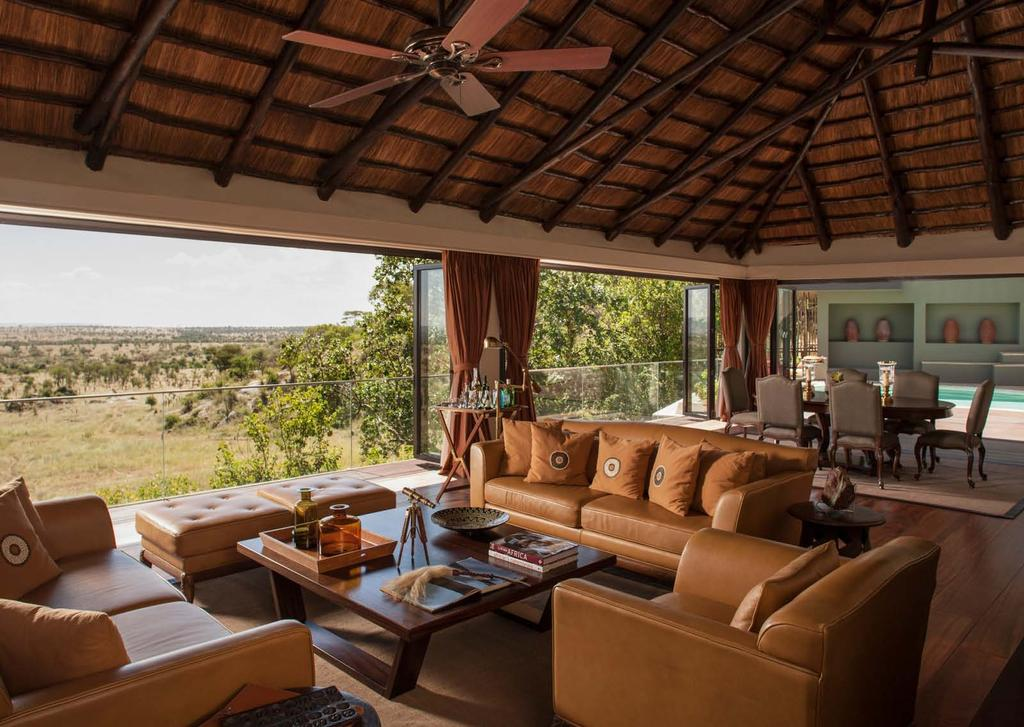 Feel at home IN THE SERENGETI