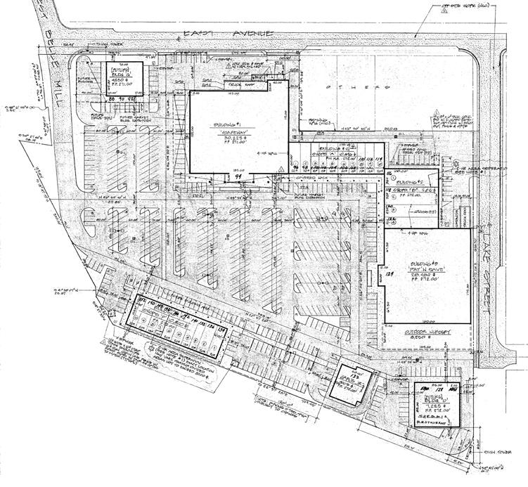 WEST EAST AVENUE SITE PLAN BELLE MILL 84 Tobacco & More 86 Armed Forces 88 Suite Tenant ± SQ. FT.