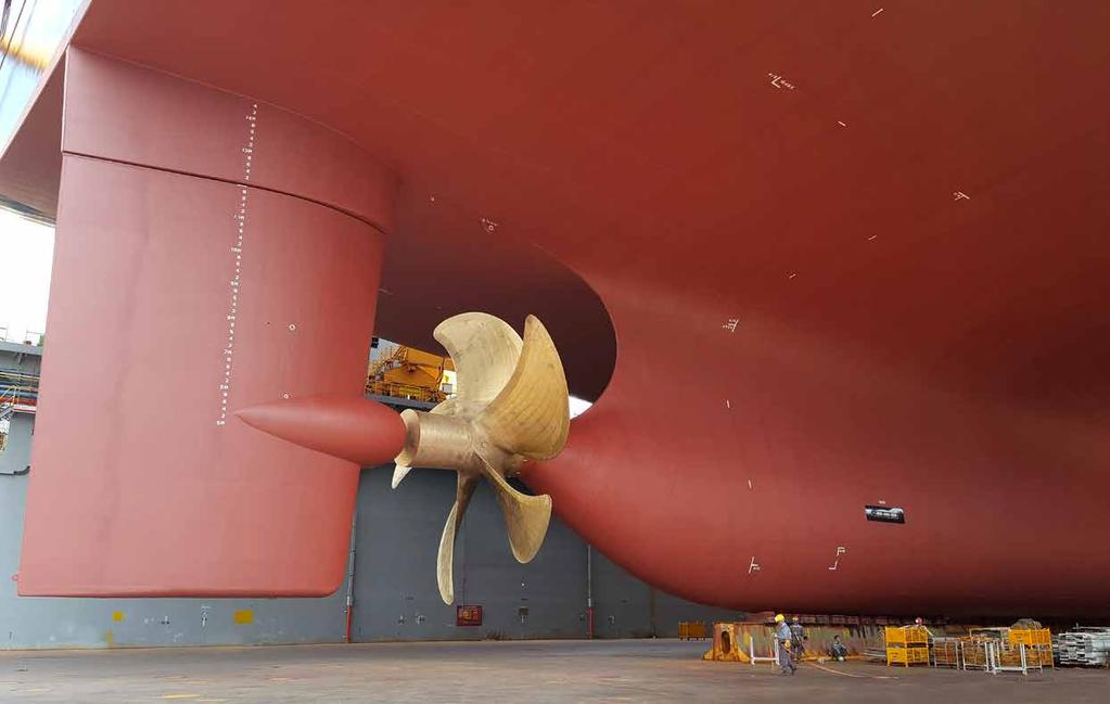 MSC SHIP MANAGEMENT Ship Management is the art of keeping the propeller turning.