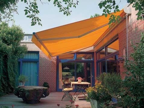 weinor patio awning