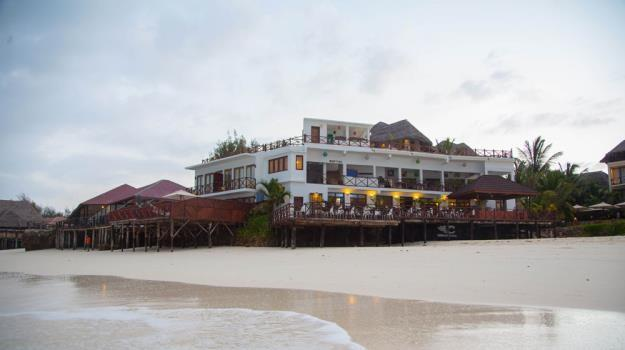 Z HOTEL This chic, boutique hotel situated in a secluded plot on the corner of an idyllic beach in Nungwi, is located on the northern tip of Zanzibar.