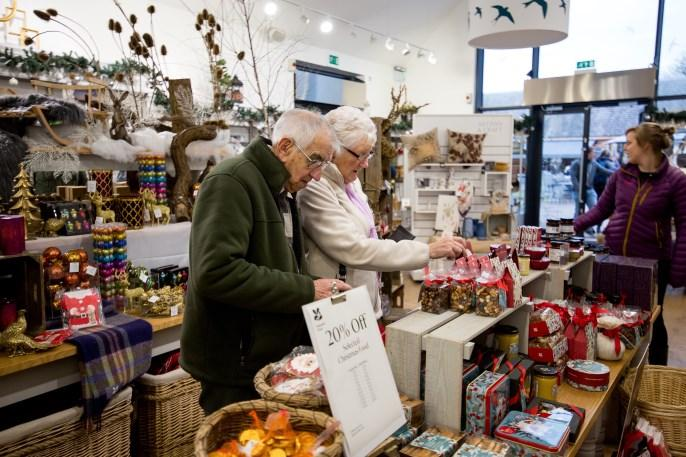 Shopping Visit the shop in the Visitor Centre for a selection of gifts, local products and a wide range of plants.