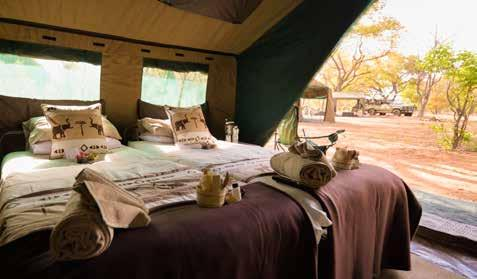12 Night Botswana Classic Camping Contact Details Reservations: Nadine