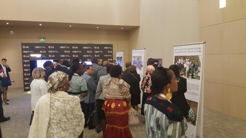 As part of the events during the 40th World Heritage Committee Meeting, the AWHF displayed a photographic exhibition on African Heritage under Threats alongside a digital exhibition by UNESCO on