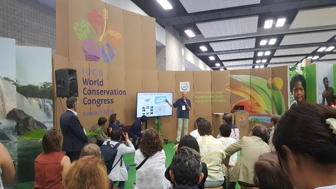 A participative action plan was developed with stakeholders. The AWHF attended the IUCN World Conservation Congress held this year in Honolulu (Hawaii) from 1 st to 10 th September.
