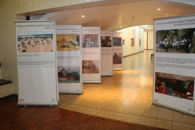 2. COMMUNICATION AFRICAN HERITAGE UNDER ATTACK EXHIBITED IN TURKEY, KENYA AND SOUTH AFRICA African Heritage under Attack is a travelling exhibition showcasing some of the most common threats to