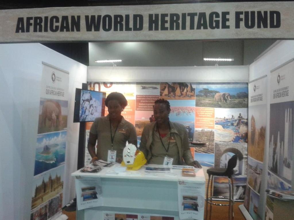 The AWHF set up a stand showcasing its work and perspectives about the trade of endangered species. Branding material was also distributed.