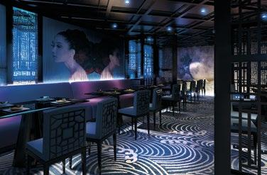 FINER DINING Pacific Aria & Pacific Eden offer a whole new level of gourmet. Dragon Lady Dragon Lady boasts Pan Asian cuisine in an intimate, moody and mysterious setting.