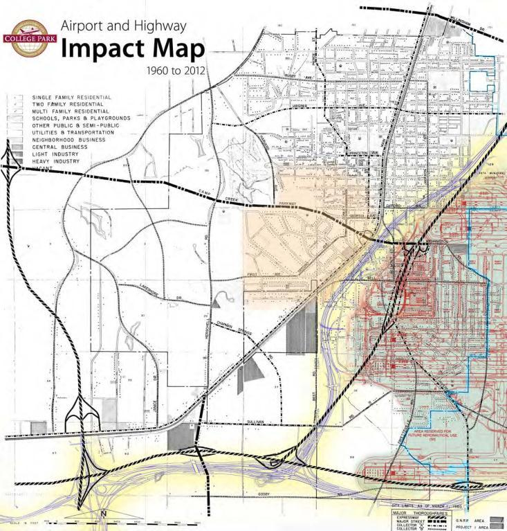 Transportation Brings Opportunity College Park begins as a Railway Town Growth of Interstate Highways Growth of an Airport The