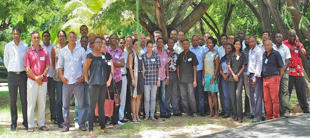 2- Drafting the Roadmap Location: Albion, Mauritius Date: 24-26 February 2015 44 Participants Main