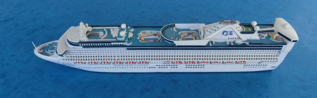 Of interest to British collectors would be Cunard s Queen Mary 2 and Queen Victoria, P&O s Ventura (all