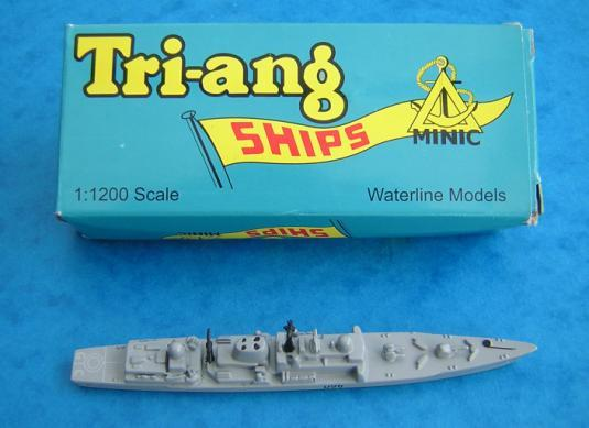 TRIANG MINIC SHIPS LIMITED 2003 was a remarkable year for new manufacturers but perhaps the biggest surprise of all was the return of the Triang name.
