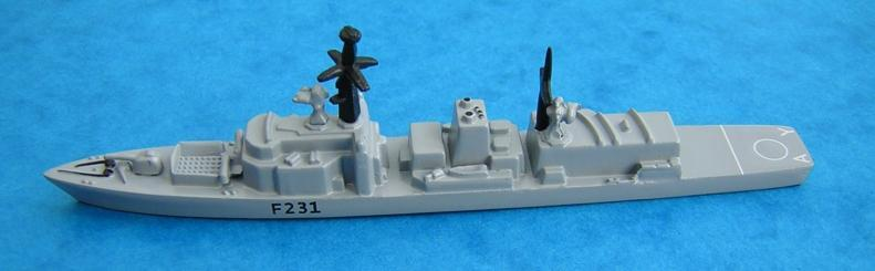 Triang Minic Ltd HMS Argyll The RN ship types have also been released individually, or in the case of submarines and minesweepers in sets, as generic models (i.e. no pennant number).