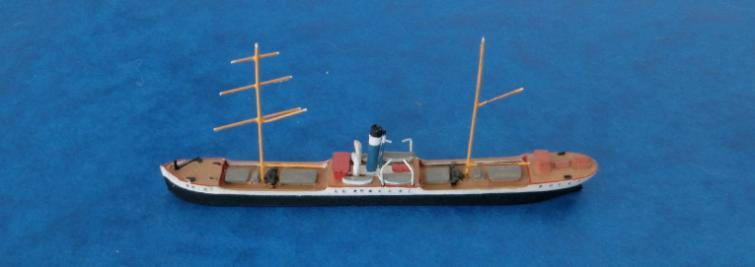 B/V Ouro do Basil (Liberia, 1982) Collecta: these models seem to be mainly modern (1980s/90s) sailing ships although COLL 01 is a 1993 Indonesian passenger vessel, the Ceremai and 05 the 1994
