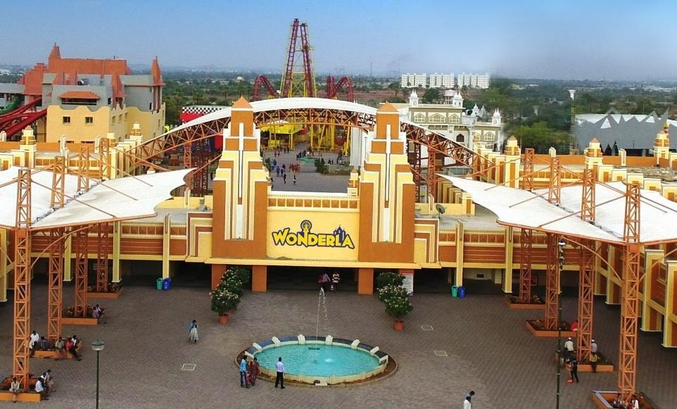 PORTFOLIO UPDATE AMUSEMENT PARK, HYDERABAD Launched in April 2016 by the name Wonderla. Situated on 49.5 acres of land, and currently occupying 27.