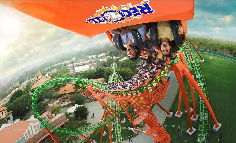 PORTFOLIO UPDATE AMUSEMENT PARK, BANGALORE Launched in 2005 by the name Wonderla Wonderla Bangalore is located off the Bangalore-Mysore highway, 28 km from Central Bangalore Situated on 81.