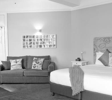 All rooms feature: Foxtel Digital TV Wireless internet Air-Conditioning Portable Hairdryer Limited mini bar Complimentary Tea and Coffee making facilities All