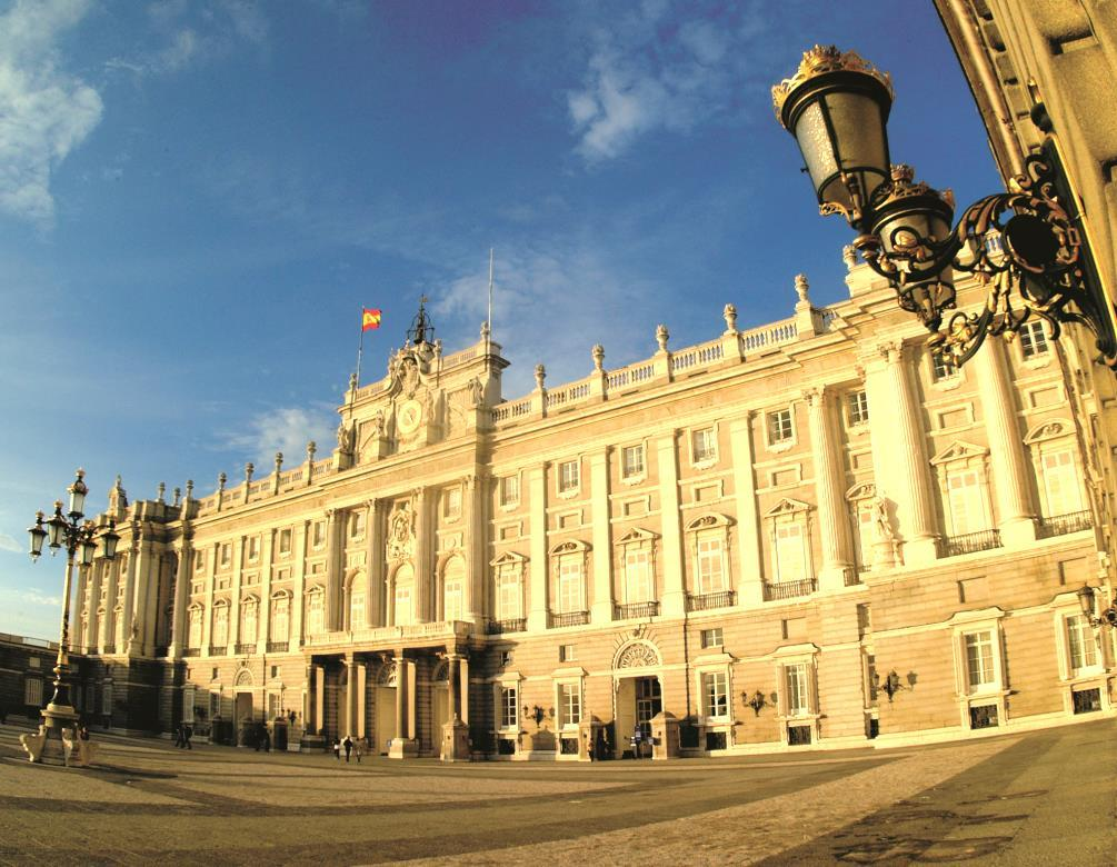 It is one of the most beautiful Palaces in Europe and is surrounded by large gardens and fountains.
