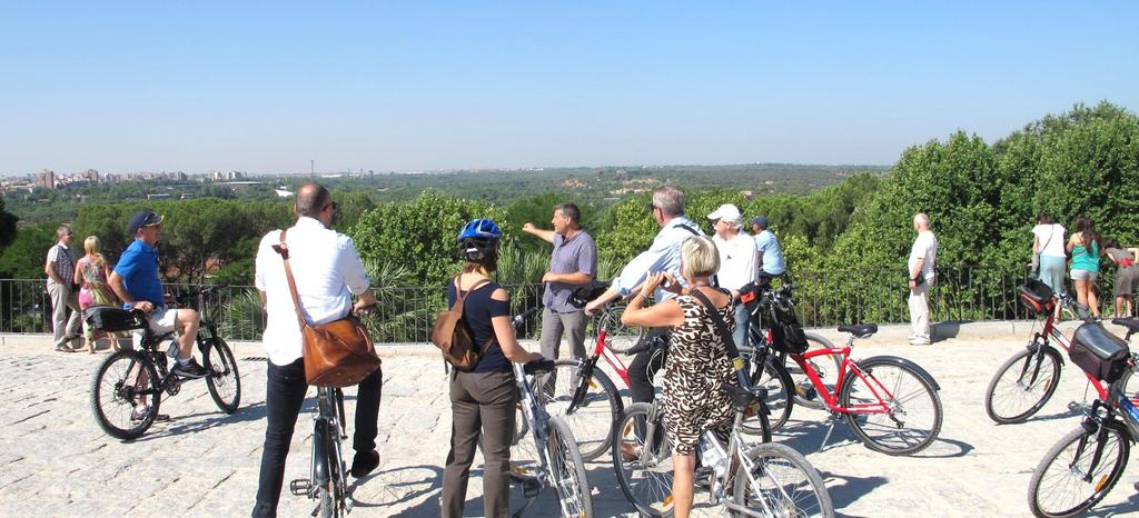 MAY 4 OPTION 2 HALF DAY BIKE TOUR Duration: 14:00 18:00 Min number of people: 15 pax Max number of people: 20 pax Price per person: 90,00
