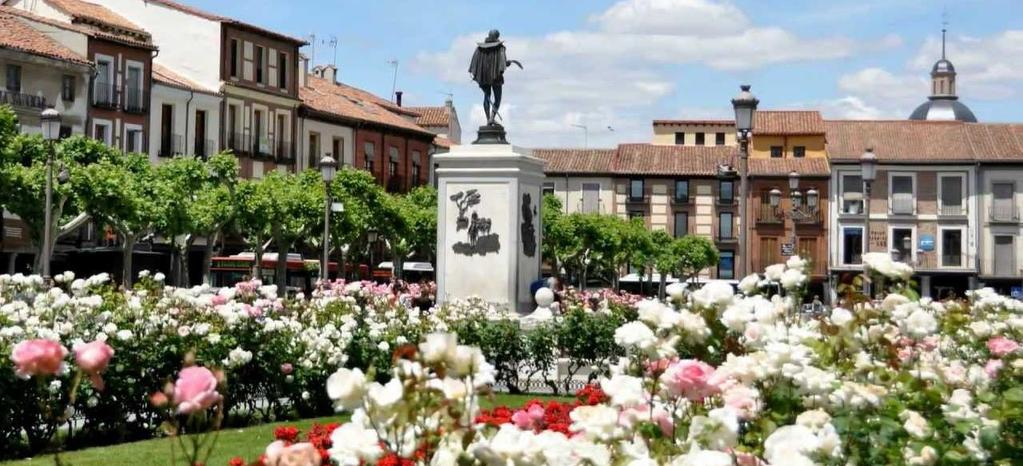 MAY 5 OPTION 1 HALF DAY ALCALÁ DE HENARES Duration: 14:00 18:00 Min number of people: 30 pax Max number of people: 40 pax Price per person: