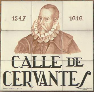 The Legend of Cervantes They say that Don Miguel de Cervantes used all his talent to create his last masterpiece which sadly has never been found - it is thought the manuscript was lost