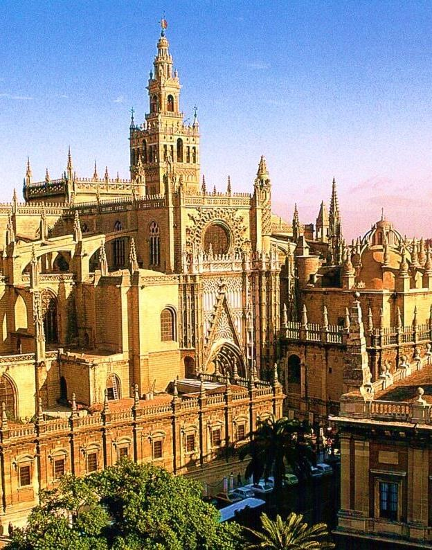 It is the largest of all Roman Catholic cathedrals and also the largest Medieval Gothic religious building, in terms of both area and