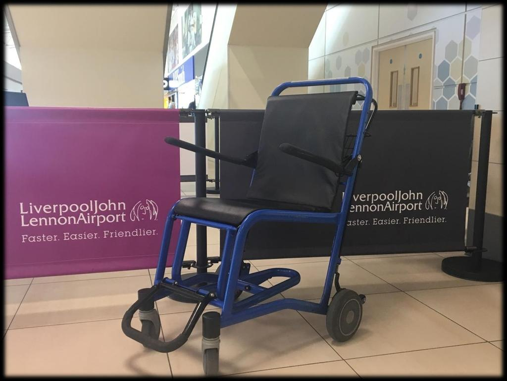 Mobility Equipment Available We have a range of equipment on site to help us delivering our service.