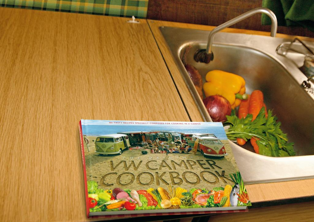 Welcome to the world of VW Campers! Feast your eyes on the coolest cookbook around.