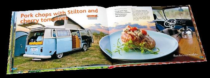The interest is bigger than ever today and the camper bus craze has crossed over into the public mainstream. The Original VW Camper Cookbook is a unique book of its kind.