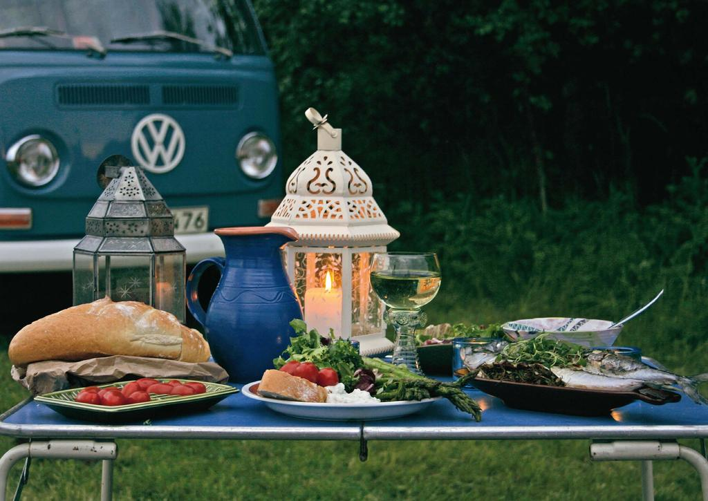 Enjoy the great outdoors in style! The idea was born over two years ago when professional chef and VW fanatic Steve Rooker and wife Suz Rooker came up with the idea of making a nice VW-cookbook.