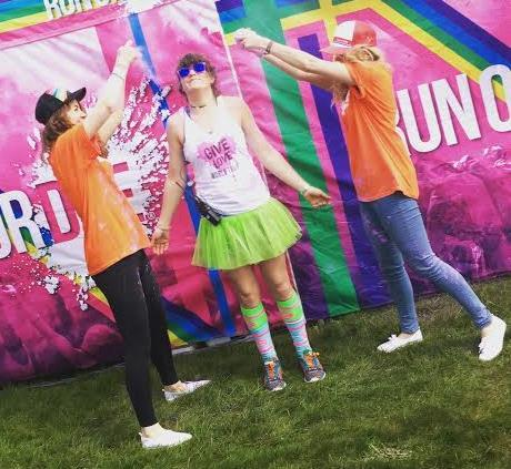 1. Being a DYE Volunteer: Run or Dye simply couldn t exist without the help of our hard-working volunteers. By volunteering, you get the chance to participate in a high-profile, exciting event.
