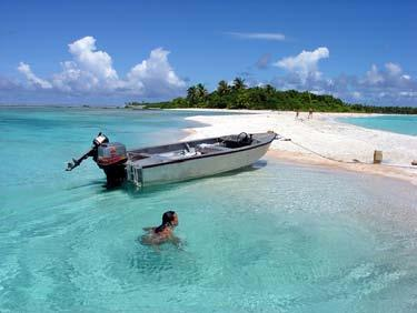 watching & Snorkeling The Aquarium the best snorkeling in Rangiroa Toute Picnic Lunch on an