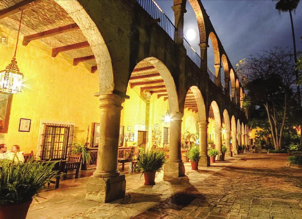 E M LITE HACIENDA EL CARMEN HOTEL & SPA Luxury accommodations housed in ornate colonial mansions,