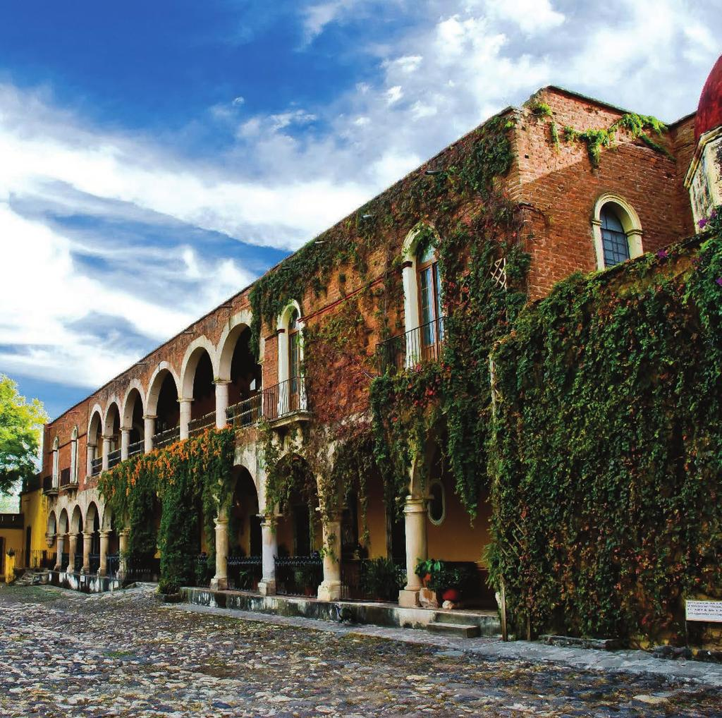 GUANAJUATO Run by Orient-Express, Casa de Sierra Nevada is surrounded by gardens and courtyards, offering a secluded sanctuary in the center of the city.