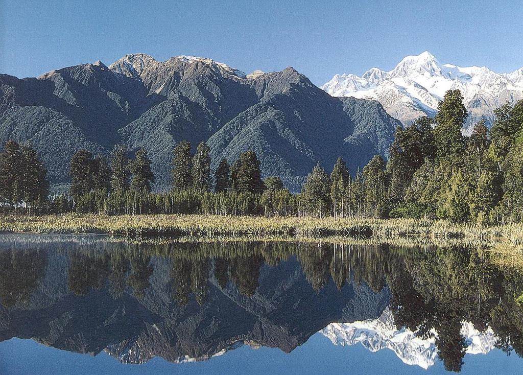 New Zealand s tourism is built largely on its natural attractions -
